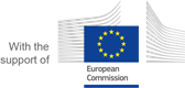 With support of the European Commission